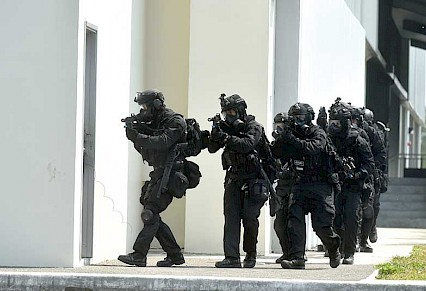 Anti-terrorism exercise