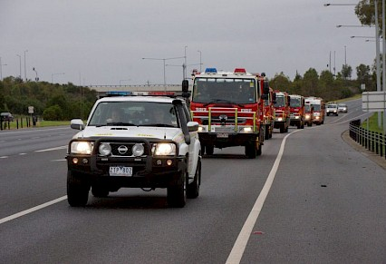 Firies head north